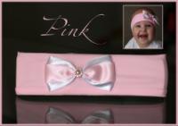 Просто очаровательная нежно-розовая повязка для принцессы (объём 44/48...