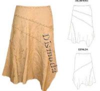 Шьем модную юбку в пол