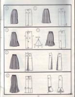 Моделирование юбок - варианты моделей юбок с чертежами. свой...