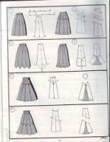 Шьем сами юбку.  Много идей и выкройки.