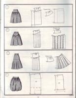 Модели юбок 2012 с выкройками.
