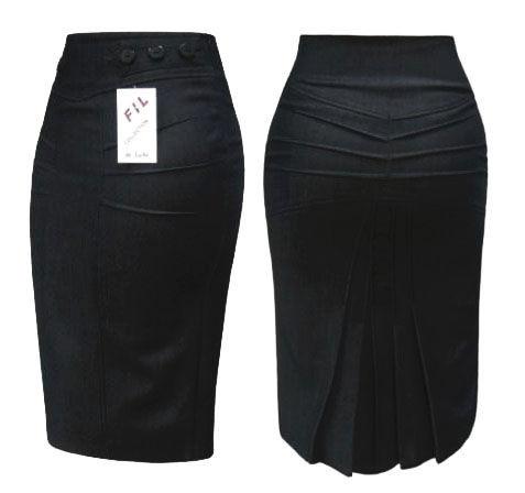 Простая выкройка юбки