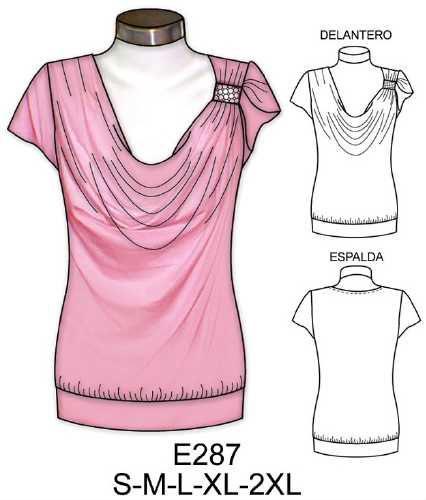 Выкройки блузок для полных женщин своими руками 74