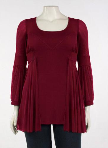 Описание: блузки для полных - Мода и модные вещи.