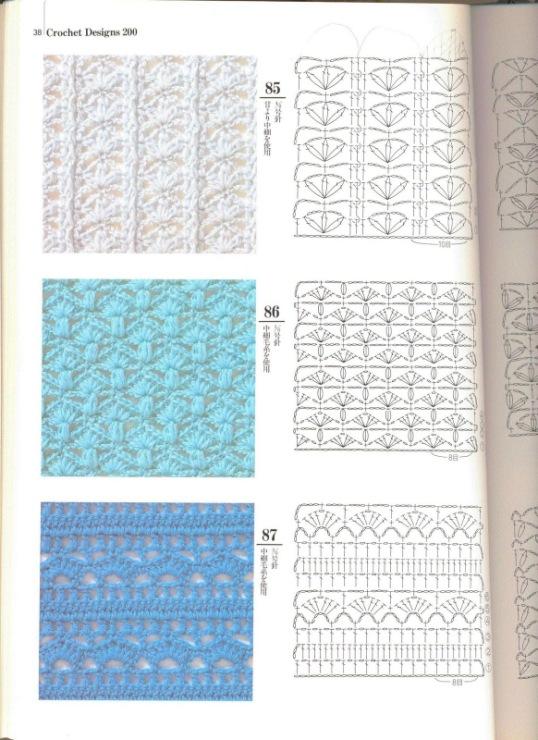 простые узоры вязания крючком для толстой пряжи схемы - Сумки