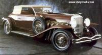 настоящая гангстерская машина imperial sedan(ездил на нем сам Капоне).