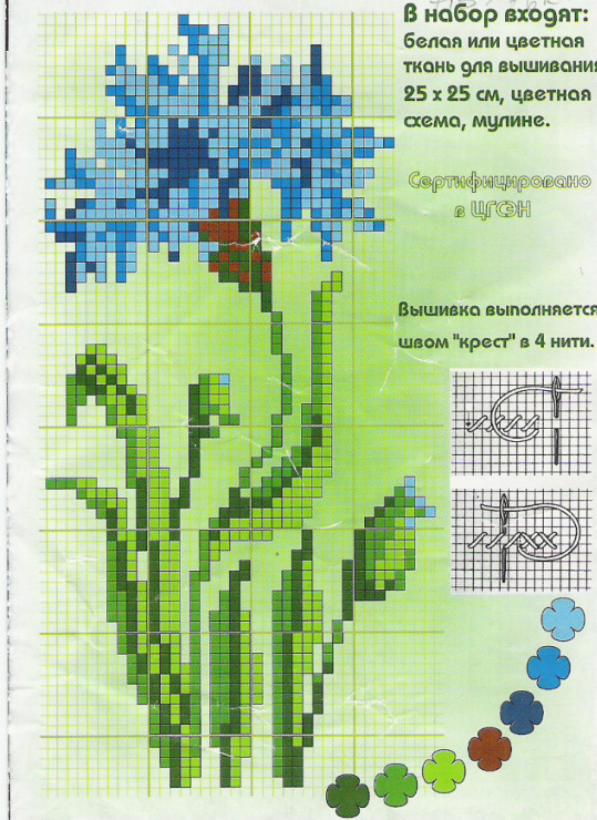 Схемы вышивки бесплатно pdf