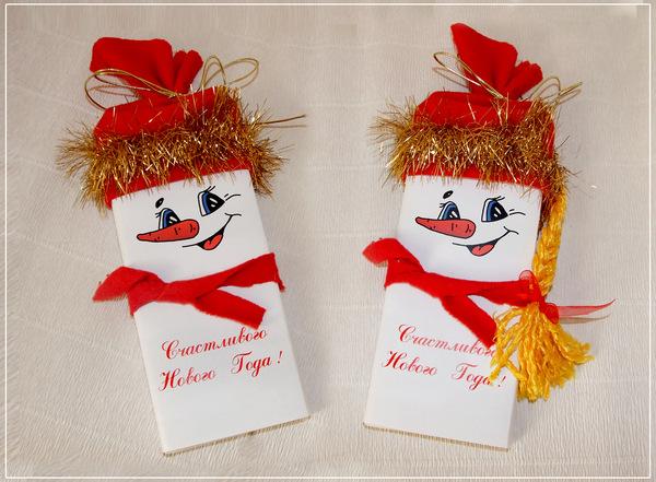Новогодние подарки своими руками пошаговое фото