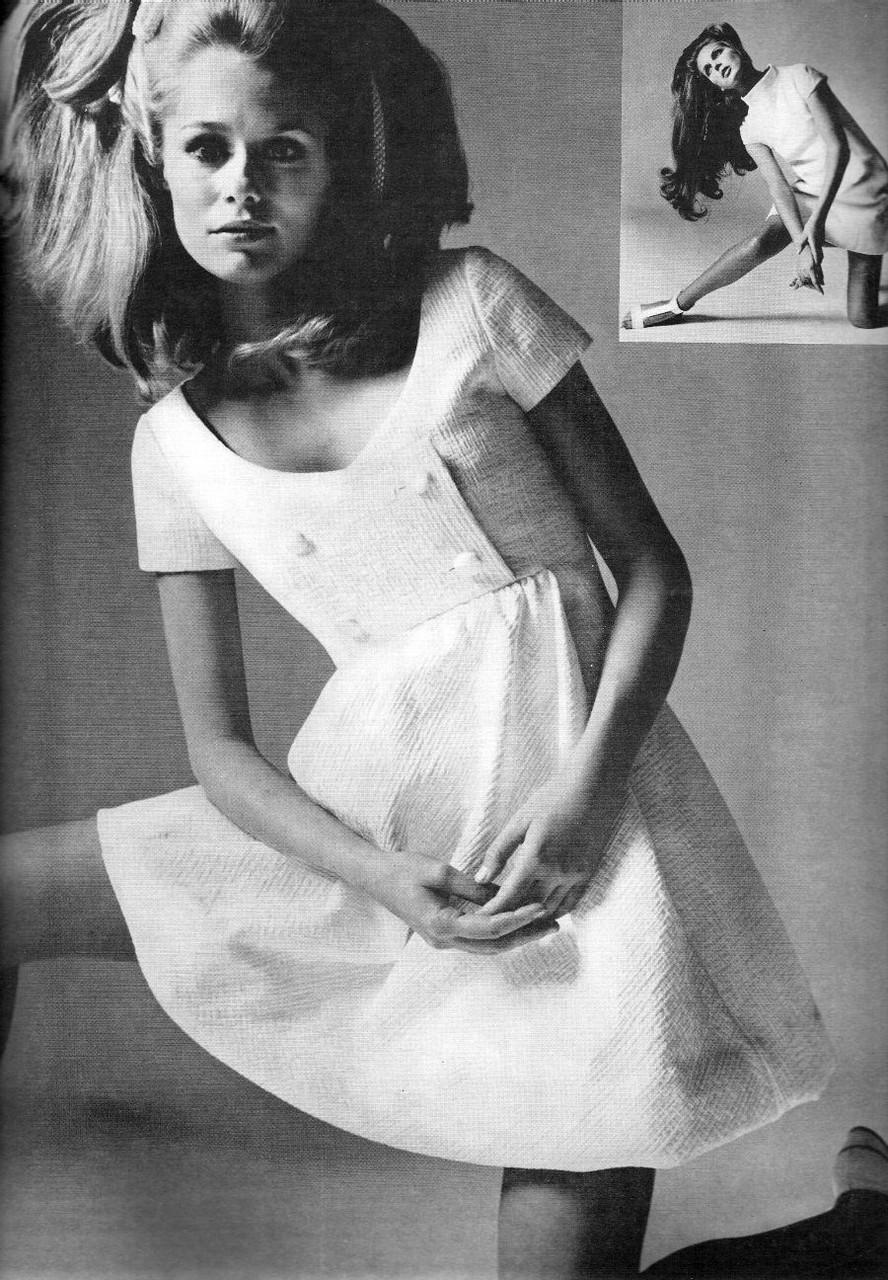 Ретро мода - Простенькое платьице 60-х.
