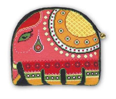 Набор для вышивания Риолис 0971 Косметичка Индийский слон.