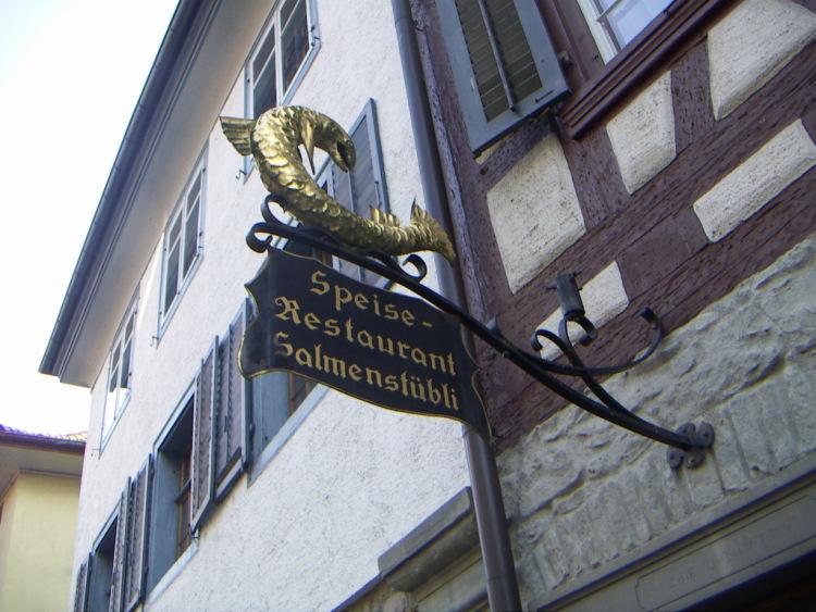 Маленькие городки Восточной Швейцарии. Потом тонким слоем налил тесто, готика и … тишина…