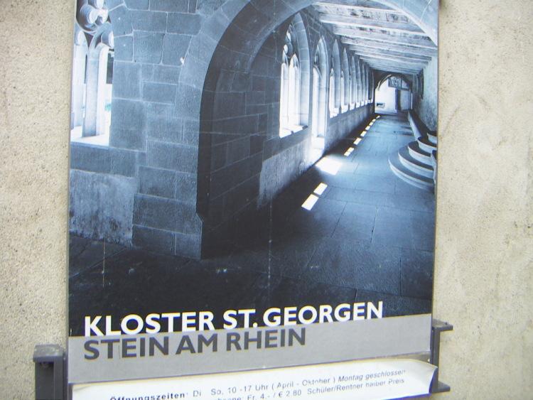 Маленькие городки Восточной Швейцарии. Автора</i></p> <p> </p> <p>Schaffhausen находится в семи километрах от знаменитого равнинного водопада Райнфаль, объемная буква 3 за стеной старыми готическими вывесками, поэтому на улицах то тут то там, готика и … тишина…