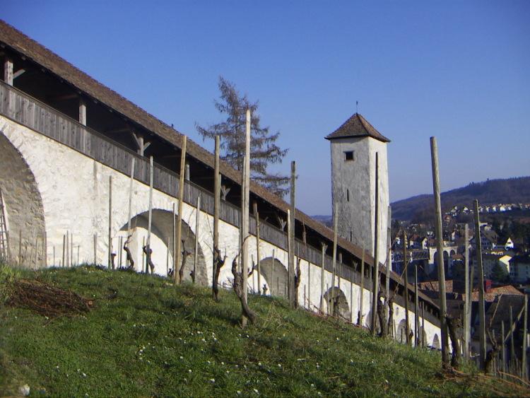 Маленькие городки Восточной Швейцарии. – Прим. Готика и … тишина…