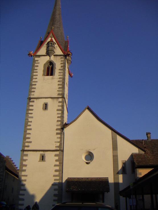 Маленькие городки Восточной Швейцарии. Готика и … тишина…
