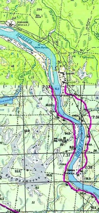рыбацкие карты архангельской области