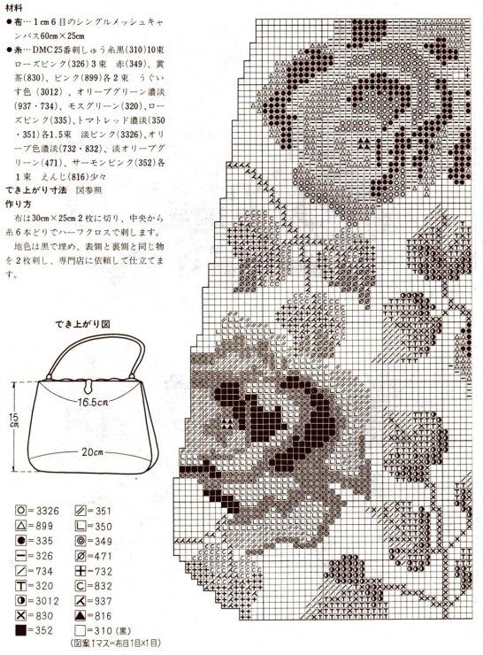 вязаная сумка в стиле шанель