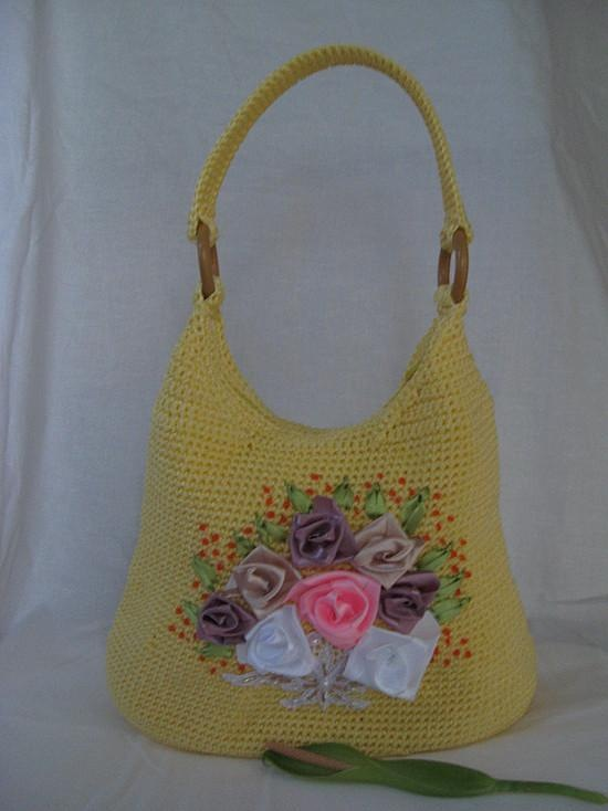 Handmade Knitting Bag Pattern : crafts for summer: sewing, crochet and knitting bags ...
