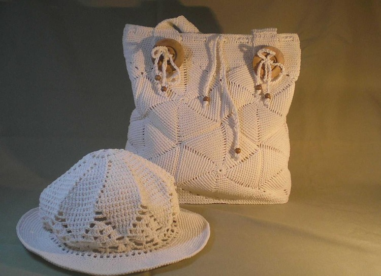 crafts for summer: sewing, crochet and knitting bags pattern