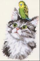 """Схемы вышивки крестом  """"Кошки """""""